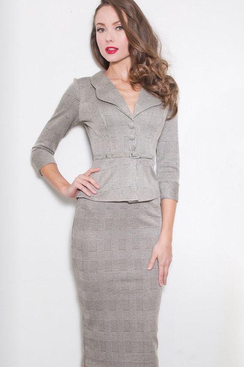 Gray Love Dress