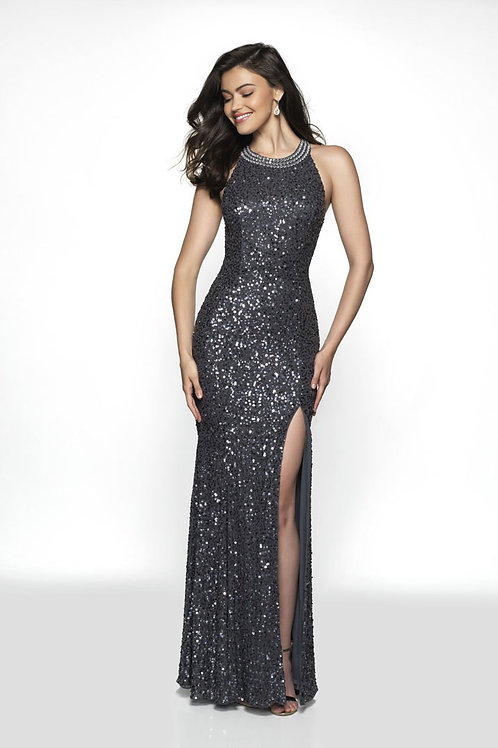 Silver Romantic Days Gown
