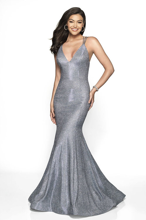 Gray Star Gown