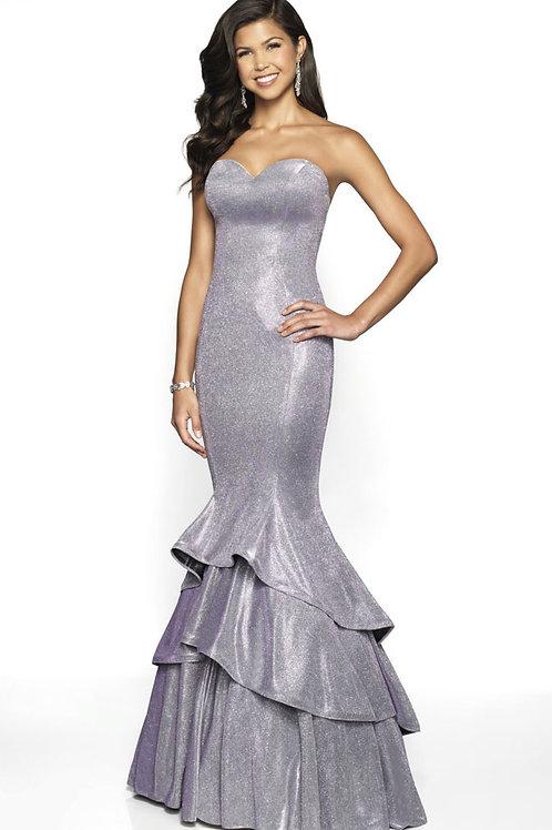 Purple Perfect Mermaid Gown