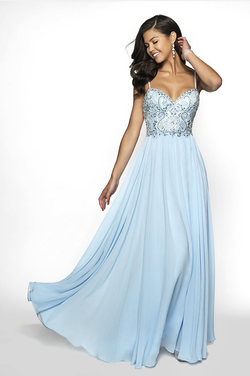 Baby Blue Love Gown