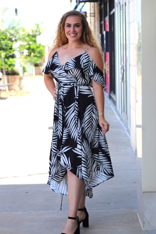 Palms and Pleasures Dress