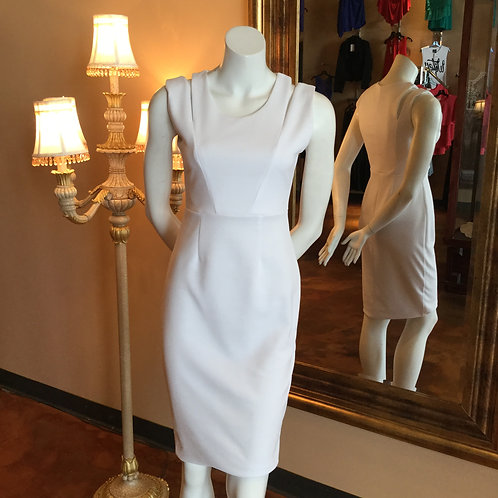 White Fab Cutout Dress