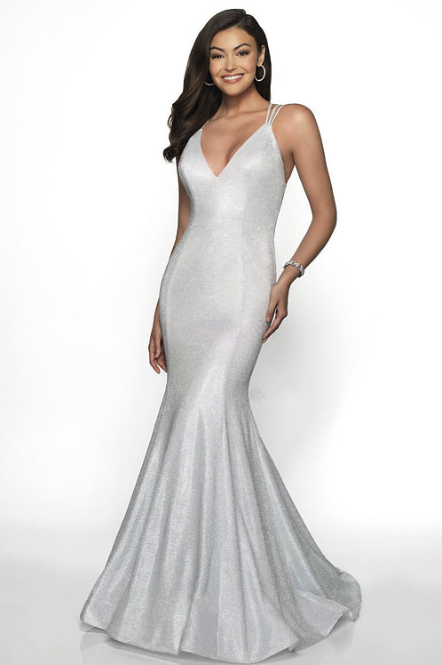 Silver Star Gown