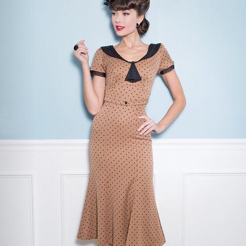 Vintage Dots Dress