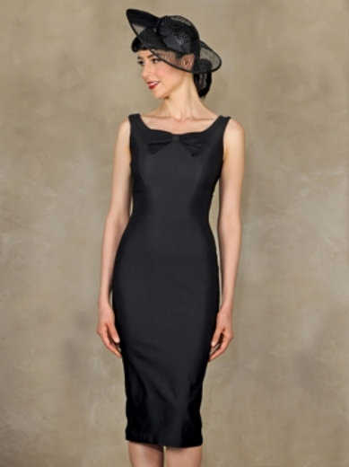 Little Black Fitted Dress
