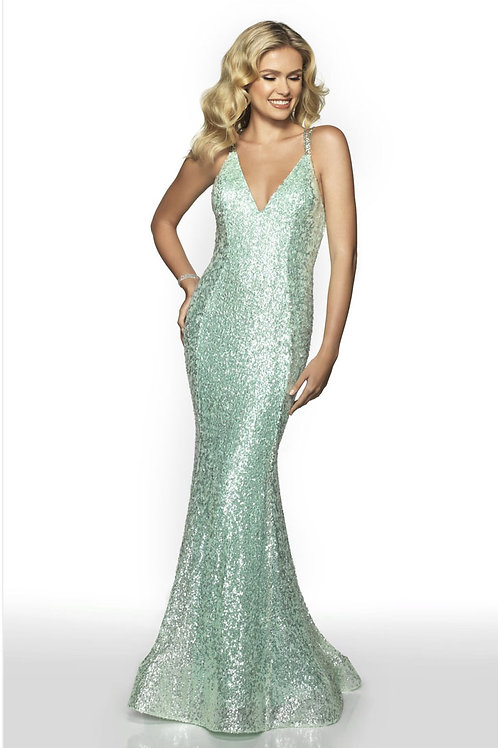 Seafoam Dream Gown