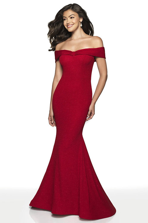 Red Bella Gown