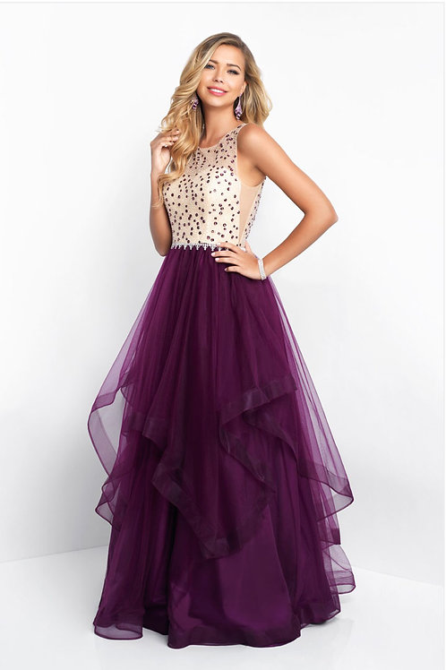 Purple Jewel Gown