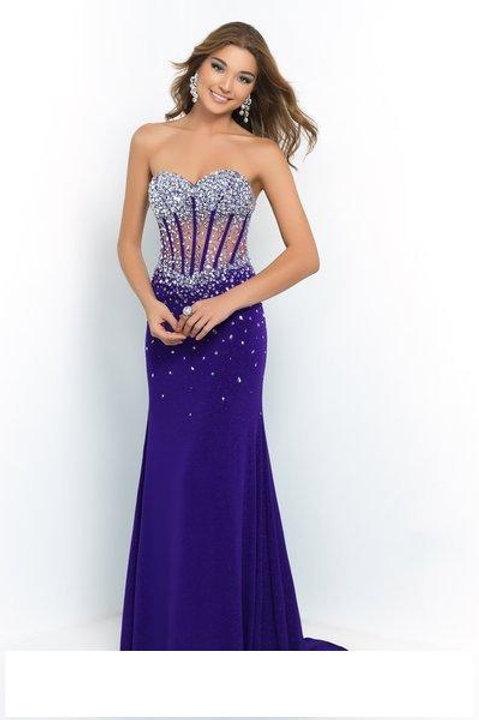 Dazzling Purple Dress