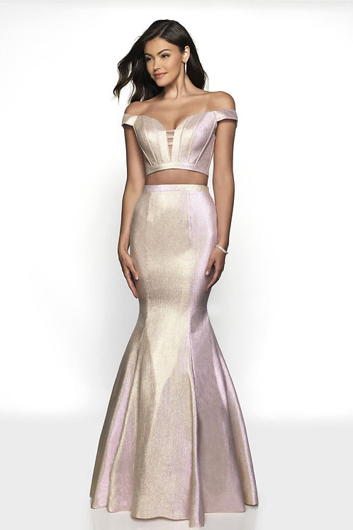 Shimmer Two-Piece Gown