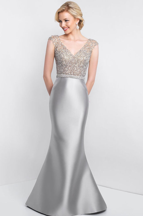 Silver Beading Gown
