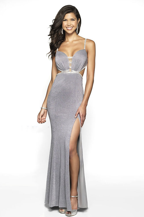 Silver Sexy Gown