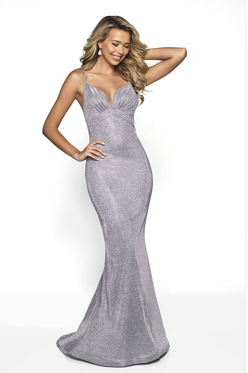 Silver Life of the Party Gown