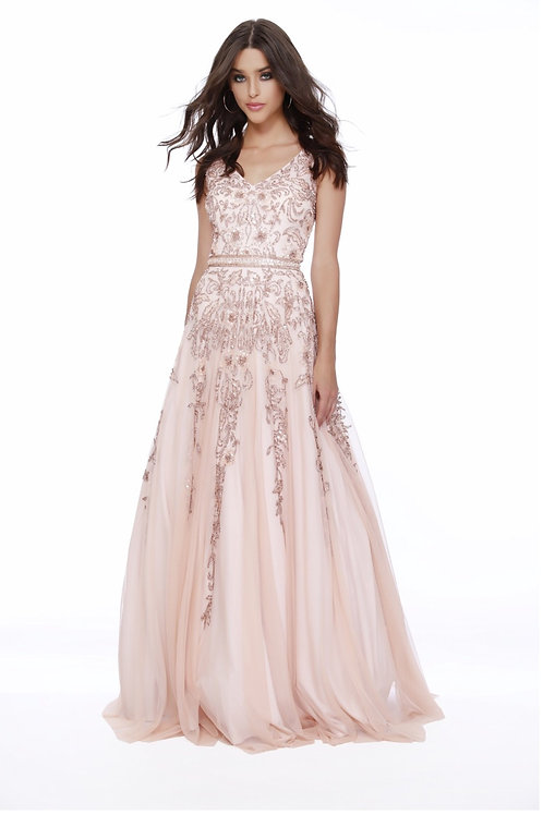 Rose Gold Glam Gown