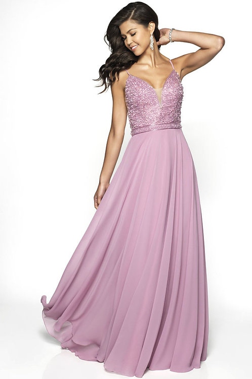 Pink Beaded Beauty Gown
