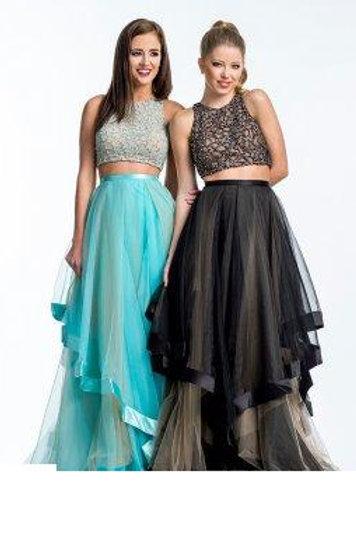Unique Two Piece Dress