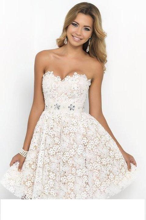 Darling White Lace Dress