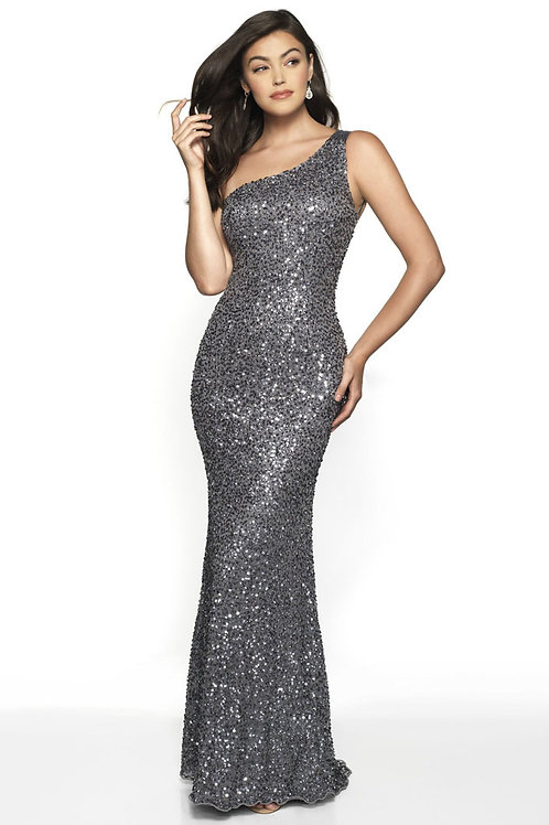 Silver Sassy Sparkles Gown