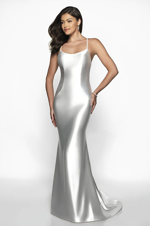 Silver Shooting Star Gown