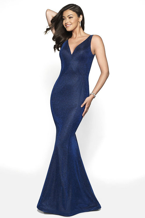 Blue Bow Gown