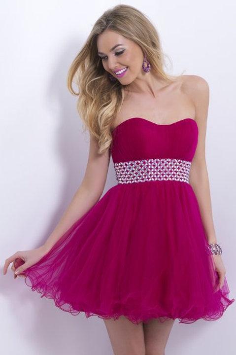 Lilac Sparkles Short Gown