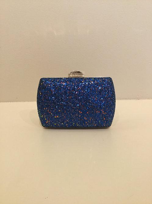 Blue Sparkle Clutch