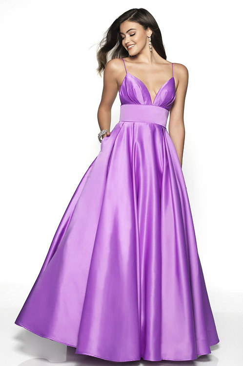 Purple Pretty Princess Gown