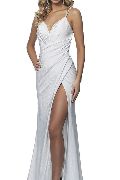 White Wrap Me Up Gown