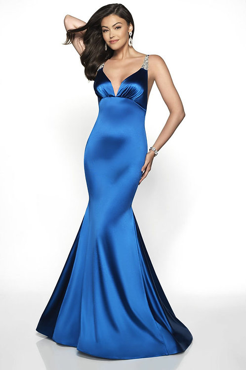 Royal Blue Doll Gown