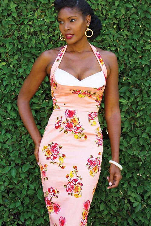Floral Covergirl Dress