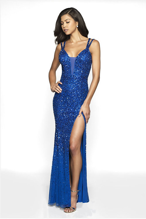 Blue Ultra Sexy Gown