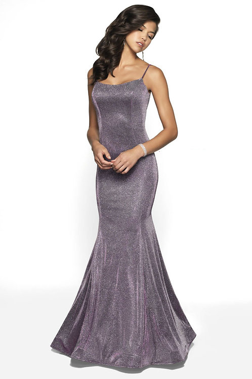 Purple Shimmer Gown