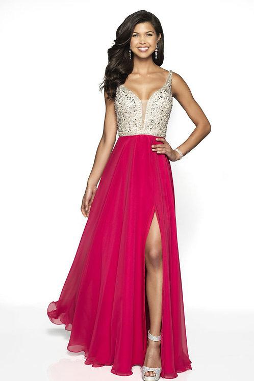 Hot Pink Gem Gown