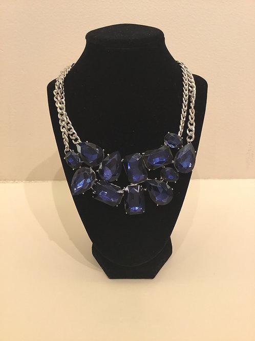 Blue Gem Necklace