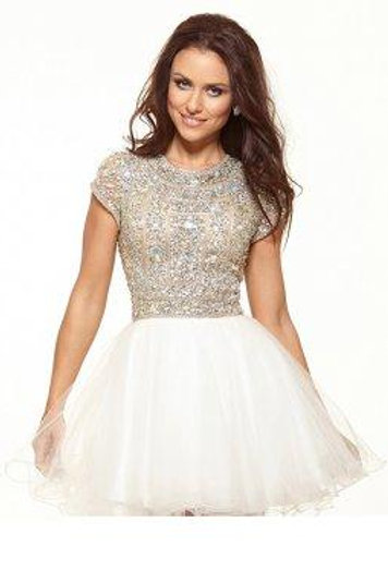 Cute Sparkly Short Dress