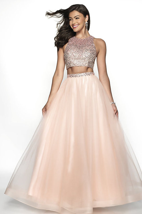Two-Piece Party Gown