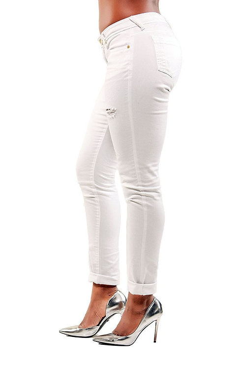 Happy Day White Jeans