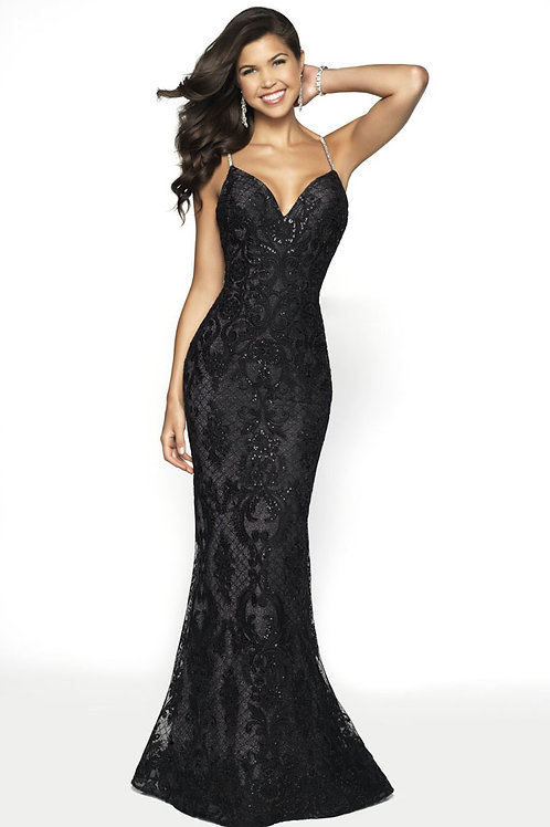 Black Lace Dream Gown