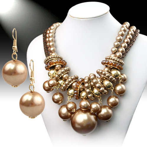 Pearl Dynasty Necklace Set