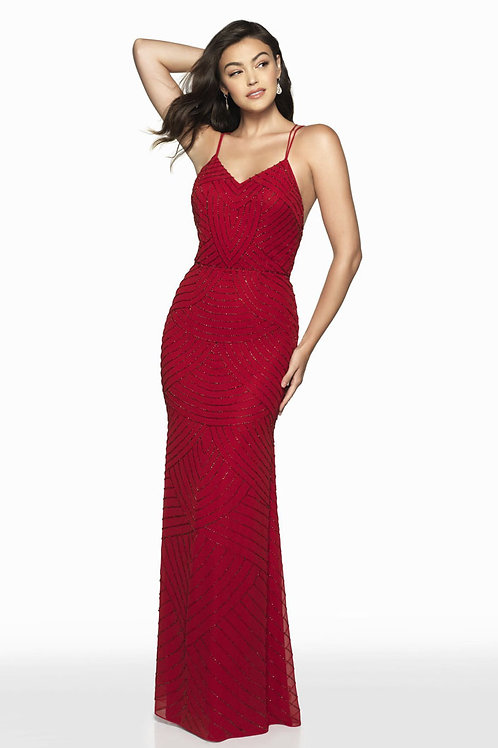 Red Chic Gown