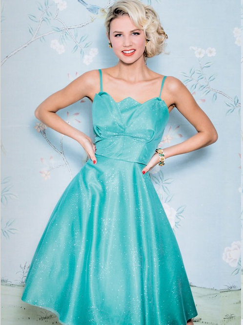 Aqua Shine Dress