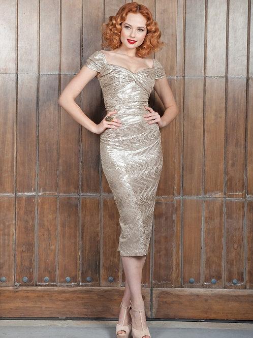 Soft Shimmer Cocktail Dress