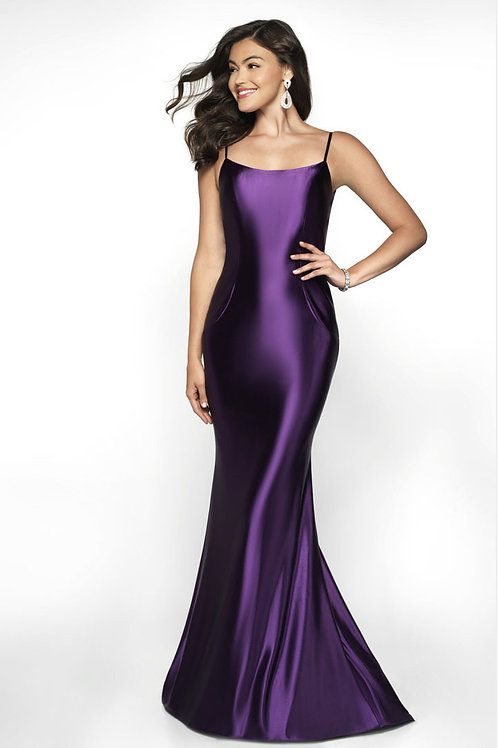 Purple Shooting Star Gown