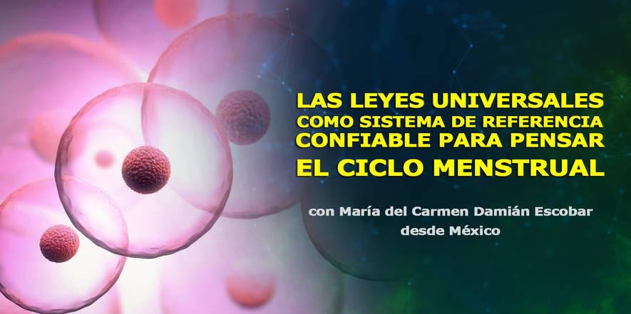 Las leyes universales en el ciclo menstrual, Congreso de Cosmosociología.jpg