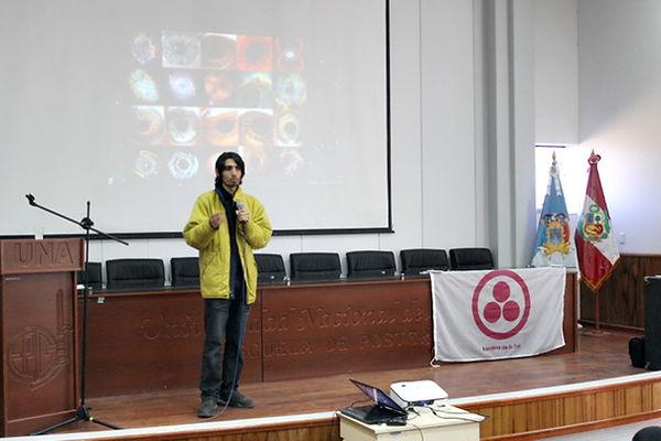 Khalil Bascary en Universidad del Altipl