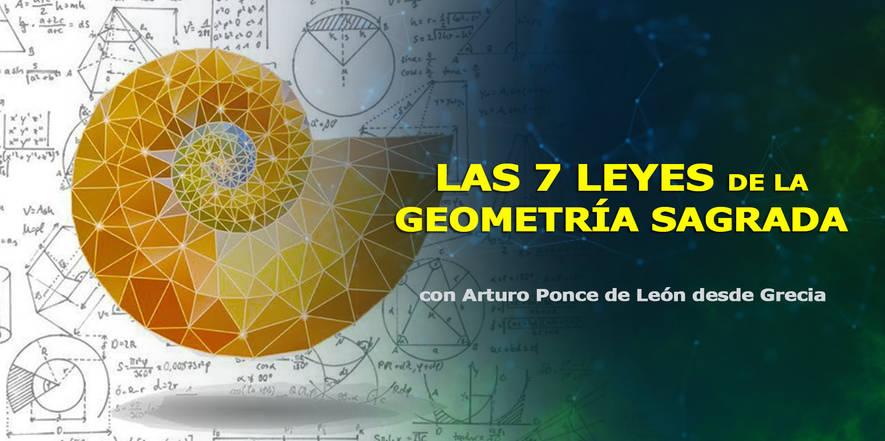 Las 7 leyes de la geometría sagrada, Arturo Ponce de León, Congreso de CosmoSociología 2.j