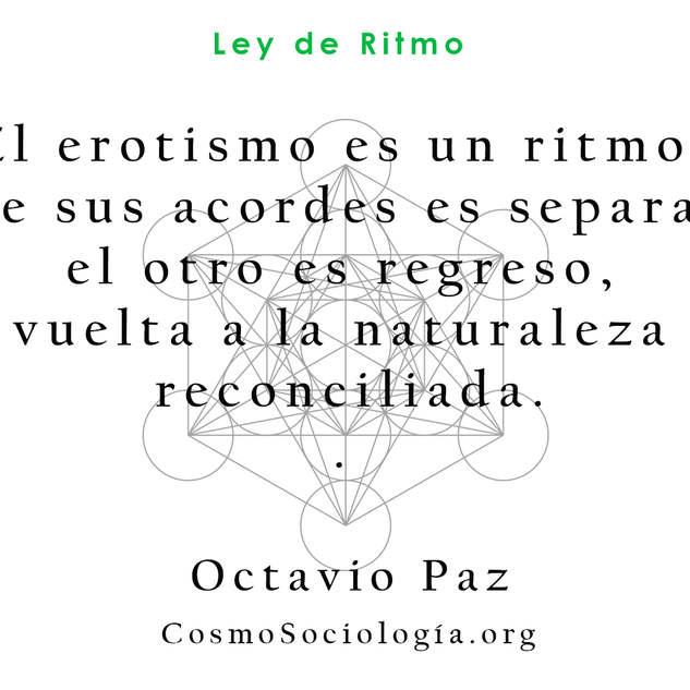 Frases de Leyes universales, Octavio Paz