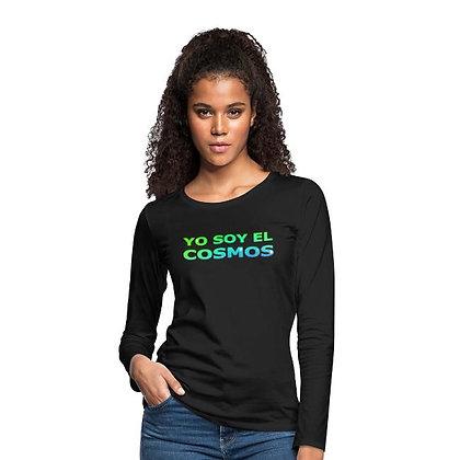 Camisetas largas YO SOY EL COSMOS (femeninas)