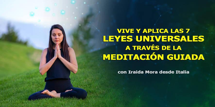 Aplica las 7 leyes universales a través de la meditación guiada, Congreso de Cosmosociología.jpg